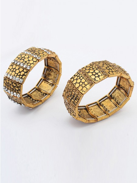 Occident Exotic Personality Wide version Elasticity Chaud Vente Bracelet